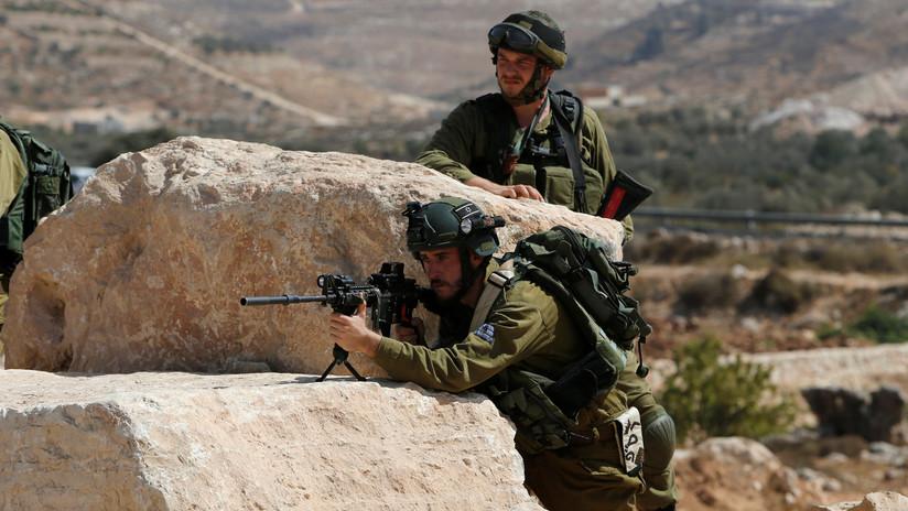 El Ejército israelí destruye gigantesco túnel cavado desde la Franja de Gaza (VIDEO)