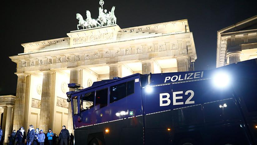 Encuentran una bolsa con municiones cerca de un mercado de Navidad en Berlín
