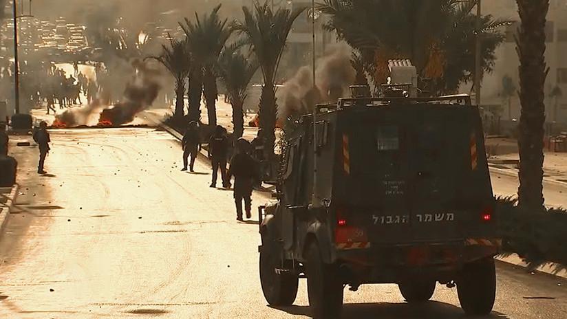 VIDEO: Protestas en la ciudad palestina de Ramala