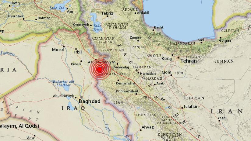 Um terremoto de 5,5 sacode a área de fronteira entre o Iraque eo Irã