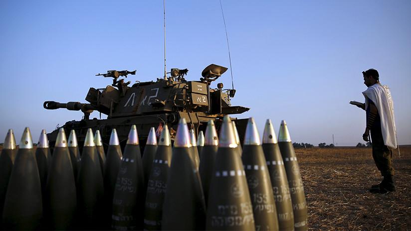 Israel ataca posiciones de Hamás en la Franja de Gaza