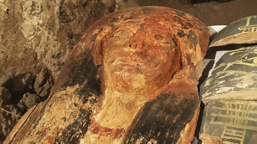Encuentran momia de niña egipcia que vivió en época de los faraones