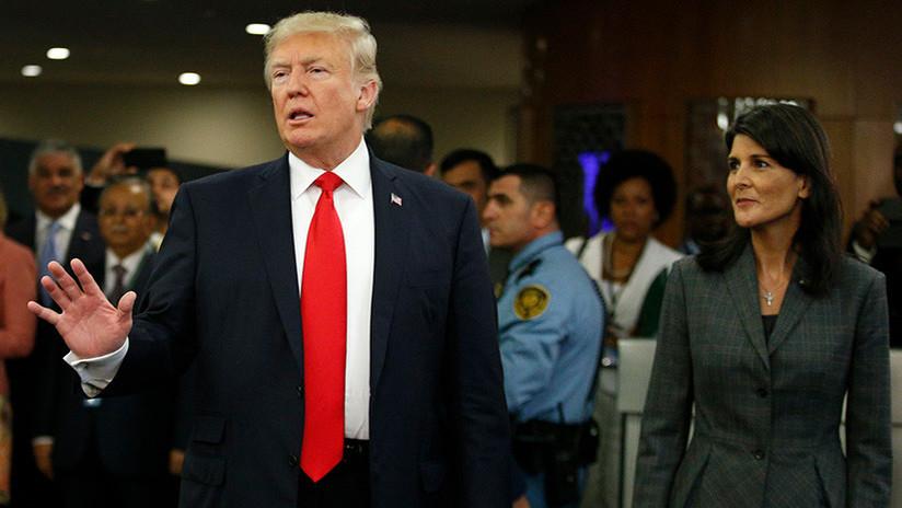"""Trump, """"enfurecido"""" por las declaraciones de su embajadora ante la ONU sobre el abuso a las mujeres"""
