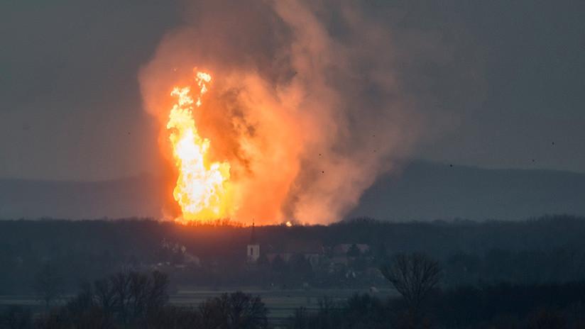 Emergencia en Italia por la explosión de un gasoducto austríaco