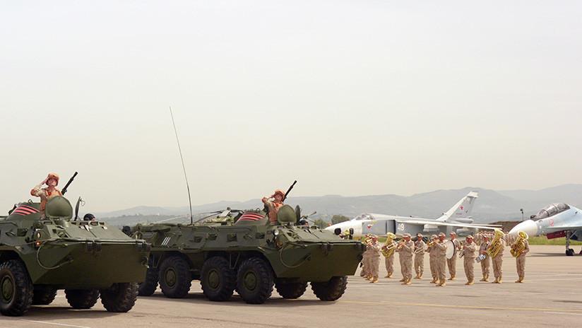Rusia manda una señal a EE.UU. y a Oriente Medio con la retirada de sus tropas en Siria