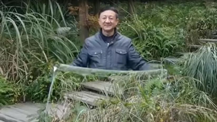 VIDEO: Una 'capa de invisibilidad' desconcierta a los usuarios de las redes sociales en China