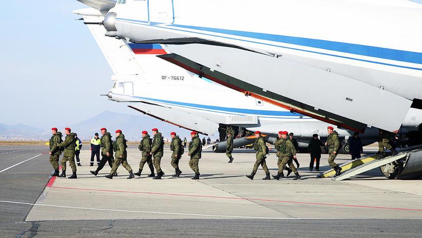 VIDEO: Tropas rusas regresan a casa tras derrotar al Estado Islámico
