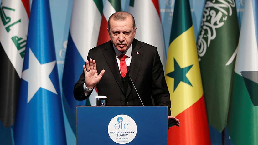 """El presidente turco acusa a Trump de tener una """"mentalidad sionista"""""""