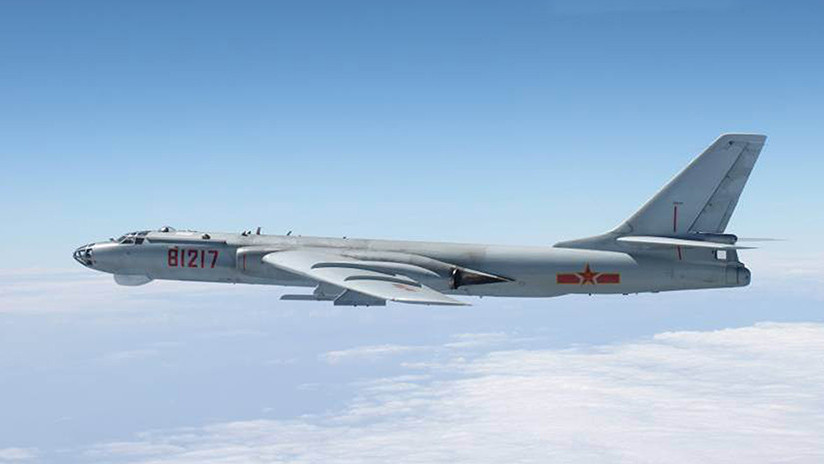 Bombarderos y cazas chinos rodean la isla de Taiwán durante un simulacro