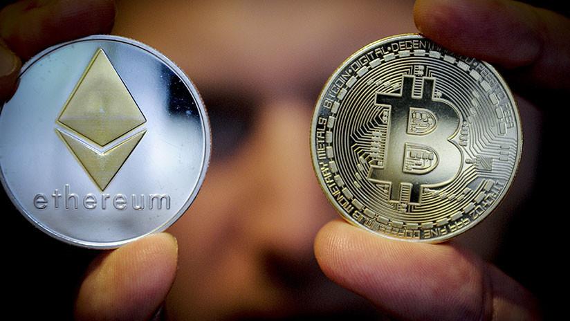 El ether supera al bitcóin al aumentar su valor un 8.000%