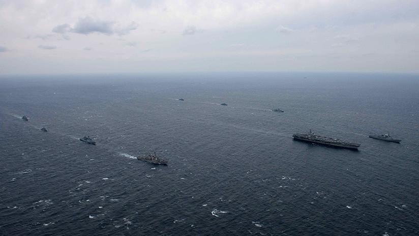 """Pionyang: """"Un bloqueo naval de EE.UU. sería un acto de guerra y nos defenderíamos sin piedad"""""""