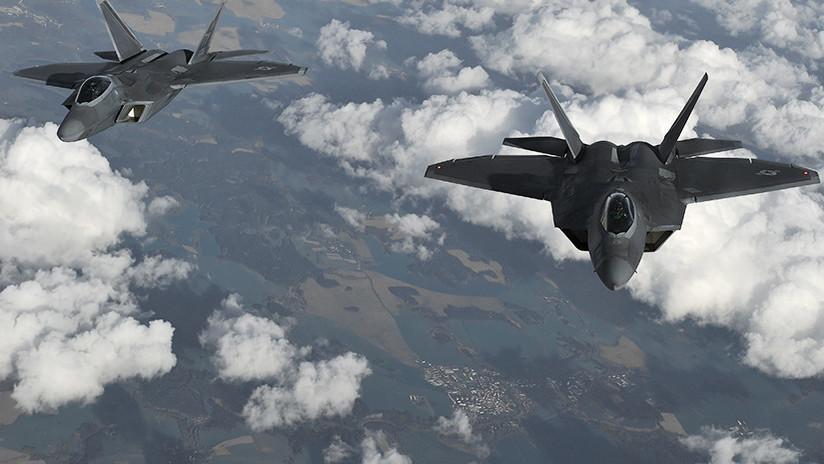 """Rusia niega que cazas de EE.UU. """"interceptaran"""" aviones de combate rusos en Siria"""