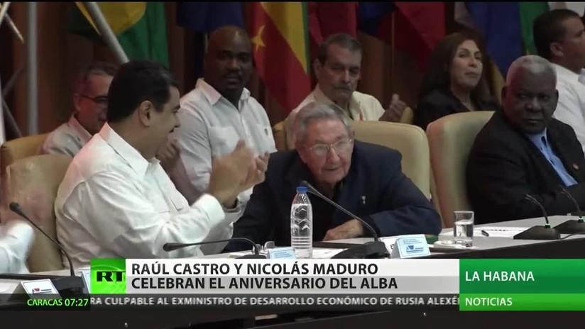 Maduro llega a Cuba para celebrar el aniversario de la ALBA