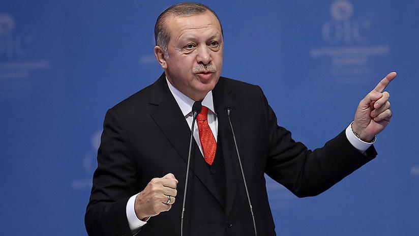 El presidente de Turquía afirma que Trump planea una operación contra el mundo musulmán