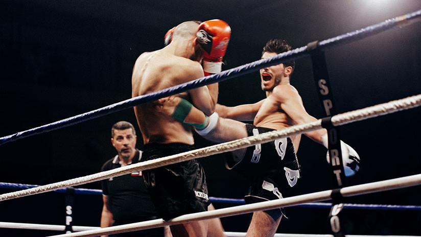 FOTOS: Luchador de boxeo tailandés sufre un terrible golpe que le hundió la frente