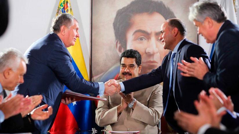 Venezuela firma nuevos acuerdos con la petrolera rusa Rosneft