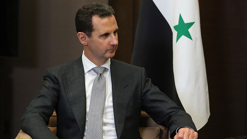 """Assad: """"El terrorismo en Siria existe gracias al apoyo de Occidente"""""""