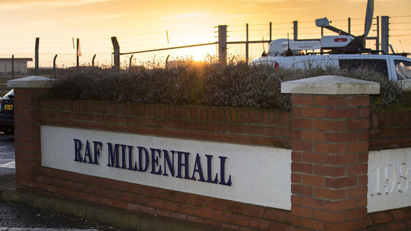 Cierran una base aérea de EE.UU. en el Reino Unido por un incidente de seguridad