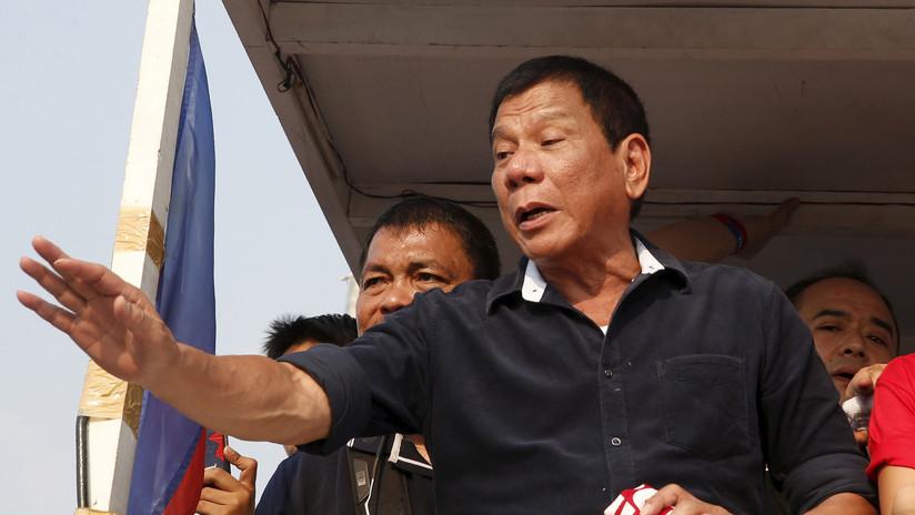 Duterte apoya el matrimonio gay y bromea con que se planteó hacerse bisexual