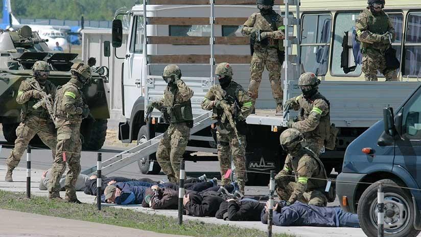 """Putin: """"Terroristas intentan usar Asia Central y Oriente Próximo como plataforma para expandirse"""""""