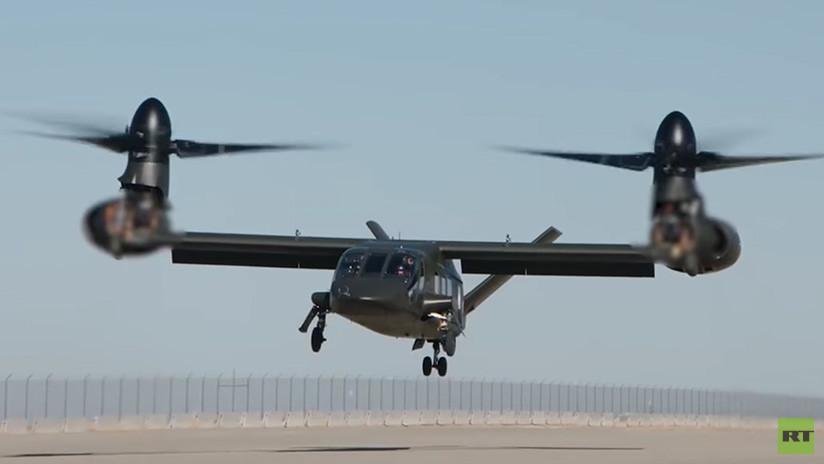 "Retire para o seu primeiro voo o ""Supercopter"" americano, o Convertiplano Bell Value (VIDEO)"