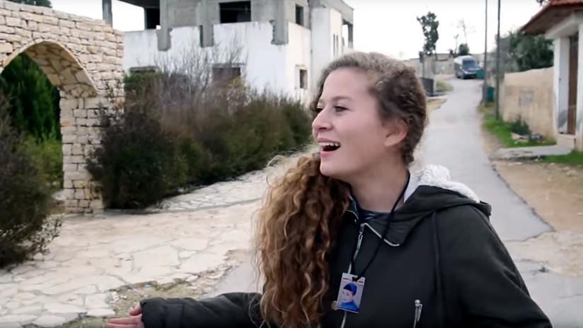 Arrestan a una activista palestina que abofeteó a dos soldados israelíes (VIDEO)