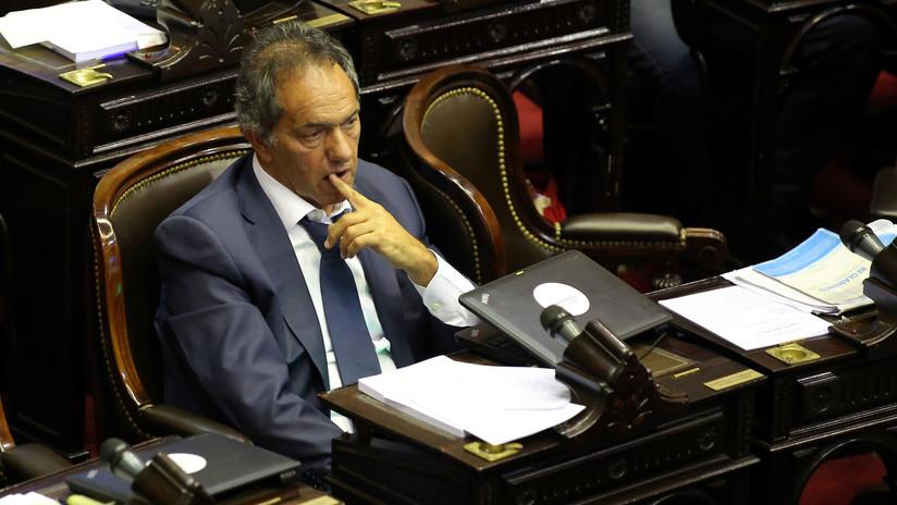Reforma previsional en Argentina: Las redes arden por la ausencia de Daniel Scioli en el Congreso