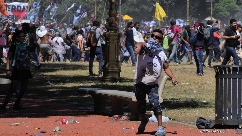 Argentina: tercer día de protestas contra la reforma previsional (VIDEOS, FOTOS)