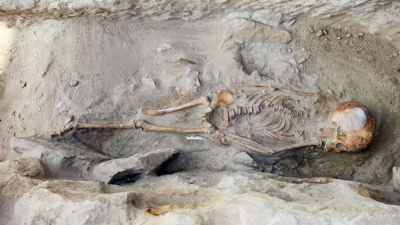 Descubren cuatro tumbas infantiles milenarias en Egipto (FOTOS)