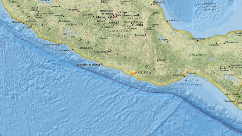 Se registra un sismo de magnitud 5,2 en México