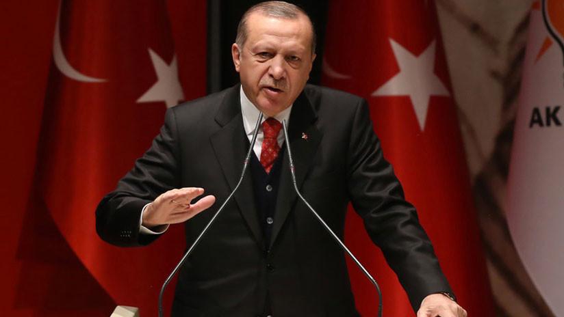 """Erdogan: """"Señor Trump, no puede comprar la voluntad democrática de Turquía con sus dólares"""""""