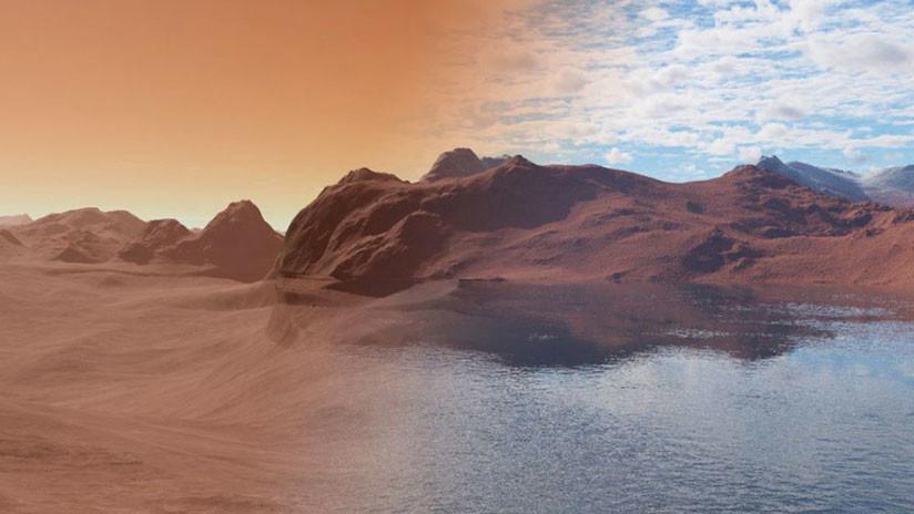 ¿Cómo perdió Marte sus océanos? Un nuevo estudio puede haber resuelto el misterio