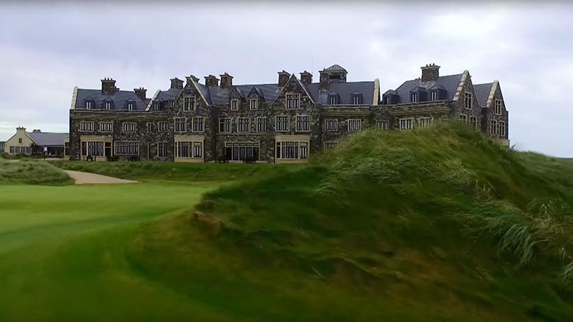 Donde Trump sí construirá un muro es en la costa de Irlanda para hacer un campo de golf