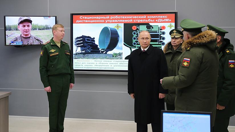 """Putin: """"Rusia debe tener en cuenta la naturaleza agresiva de la estrategia de EE.UU."""""""