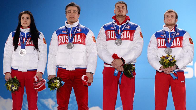 El COI suspende de por vida a otros once atletas rusos