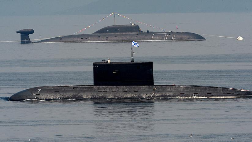 """La OTAN está """"preocupada"""" por la actividad de los sumergibles de Rusia"""