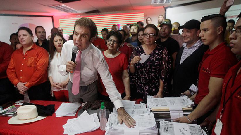 """Salvador Nasralla: """"Ya no tengo nada que hacer en política"""""""