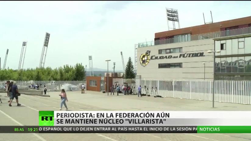 """""""En la Federación Española de Fútbol aún se mantiene el núcleo 'Villarista'"""""""