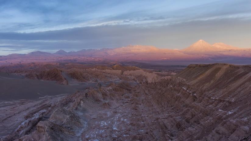 Un científico mexicano compara el desierto chileno de Atacama con Marte