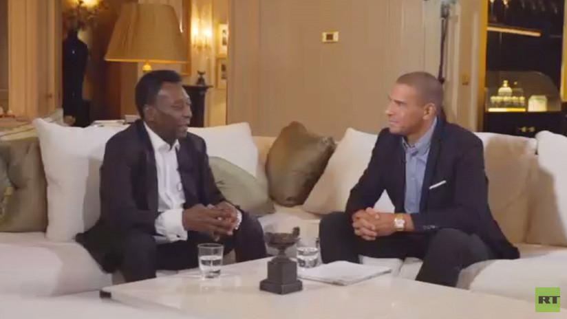 """""""Le prometí a mi padre que ganaría la Copa del Mundo"""": Pelé recuerda su carrera deportiva"""