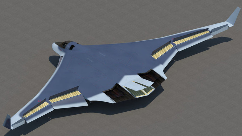 Rusia está a punto de construir el bombardero futurista PAK-DA