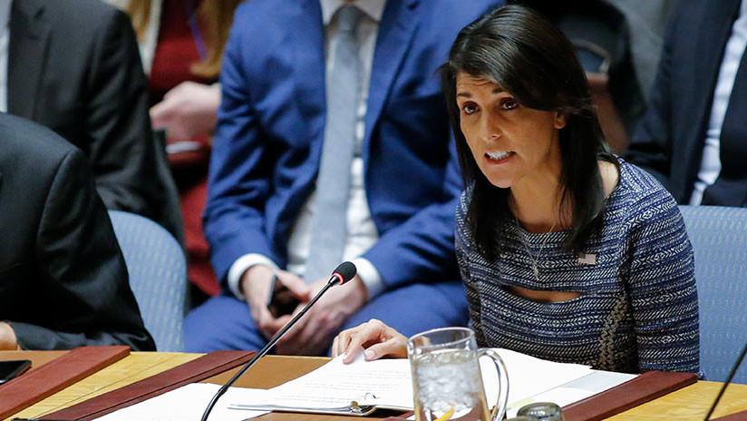 """Embajadora de EE.UU. ante la ONU: """"Ya no permitiremos que se aprovechen de la generosidad de EE.UU."""""""