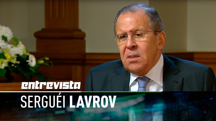 """Lavrov a RT: Si nadie interviene, el Gobierno de Venezuela y la oposición """"llegarán a un acuerdo"""""""