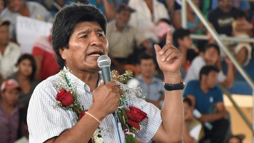 """""""Un completo acto de burla a la comunidad internacional"""": Evo Morales arremete contra Guatemala"""