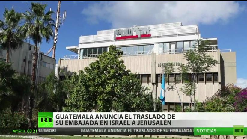 Guatemala anuncia el traslado a Jerusalén de su Embajada en Israel