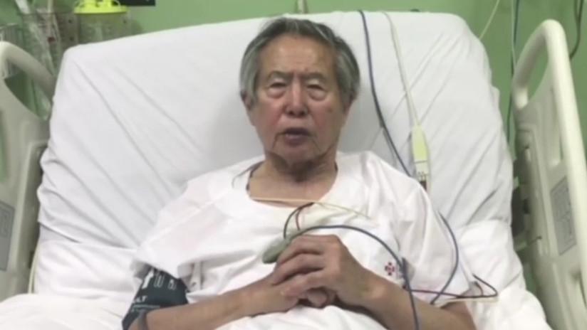 VIDEO: Fujimori en 'terapia intensiva' pide perdón a los peruanos y apoya ahora a Kuczynski