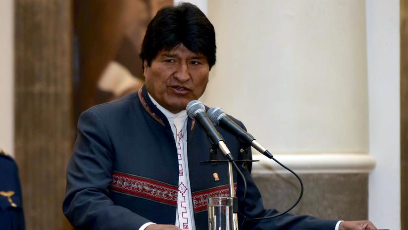 """Evo Morales: """"Trump debe entender que no es el patrón del mundo"""""""