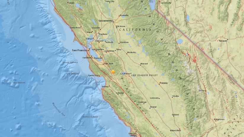 EE.UU.: Un sismo de 3,1 se registra al sureste de San José, California