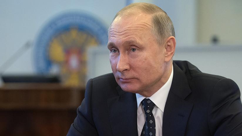 Vladímir Putin se registra como candidato presidencial a las elecciones de 2018