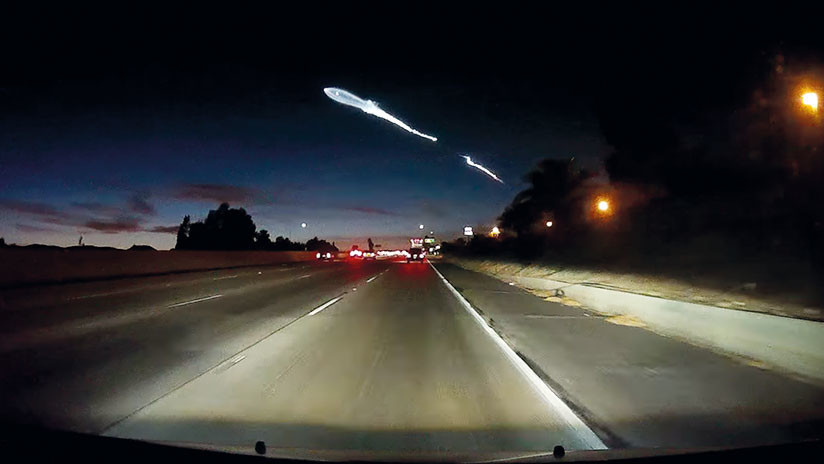 VIDEO: El cohete SpaceX de Elon Musk provoca un accidente múltiple en California